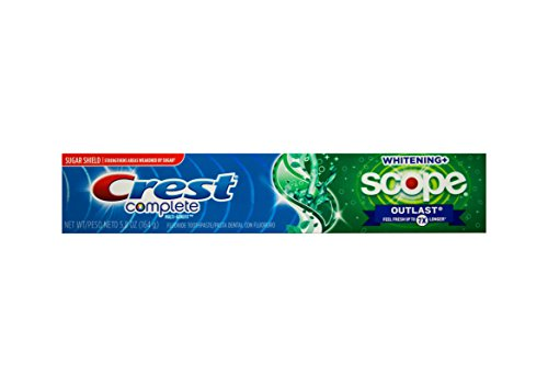 CREST Complete Scope Whitening+ Outlast bleichende Zahnpasta 164g USA
