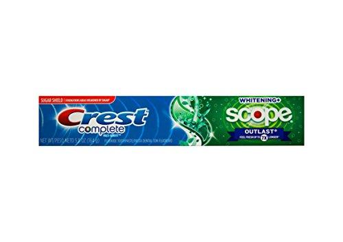 CREST Complete Scope Whitening+ Outlast bleichende Zahnpasta 164g USA