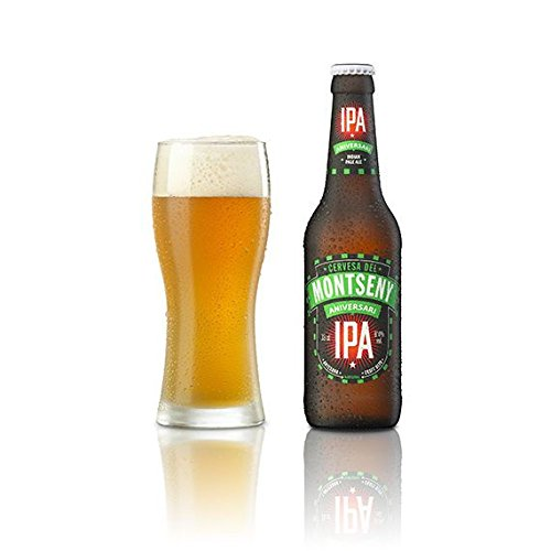 Cerveza Montseny Aniversari (12 botellas de 33 cl) Indian Pale Ale IPA Cerveza Artesana