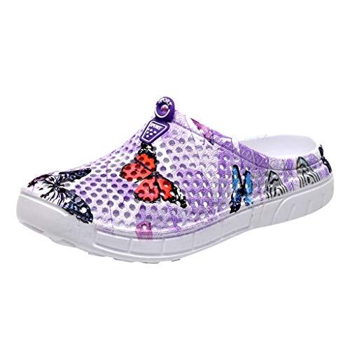 Dames volwassenen Crocband U Clogs vrouwen vlinder strand sandalen hol casual ademende hoodies woningen schoenen By Vovotrade