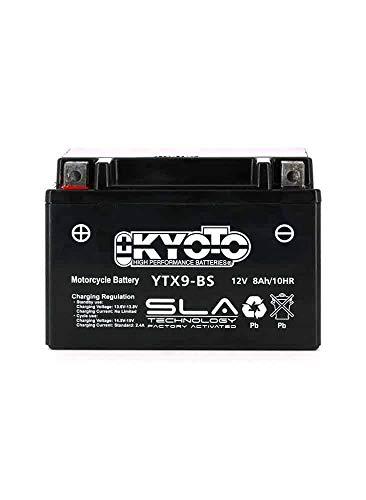 Kyoto - Batería lista para usar para Suzuki AN 400 Burgman 1999/2002