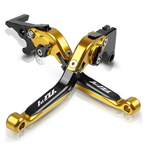 Parte para Y-AMAHA YZF-R1 YZFR1 YZF R1 2002 2003 2004 2005 2006 Empuñaduras De Palanca De Freno De Embrague De Motocicleta Freno Embrague (Color : Gold 2)