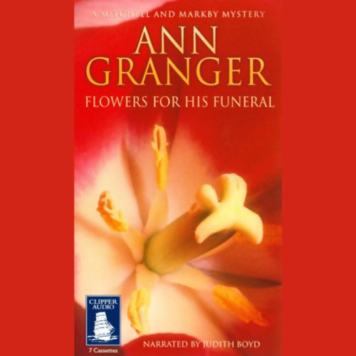 Flowers for His Funeral audiobook cover art