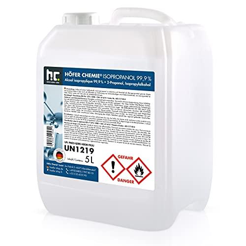 Höfer Chemie 2 x 5 L Isopropanol 99,9% IPA Erfahrungen & Preisvergleich