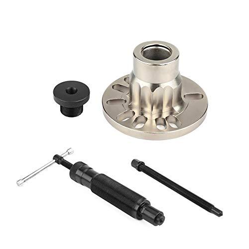 10T Hydraulik Radnaben Abzieher, Profi Radnaben-Werkzeuge Hydraulischer Ausdrücker für Antriebswellen mit Kunststoffkoffer, 96-125mm