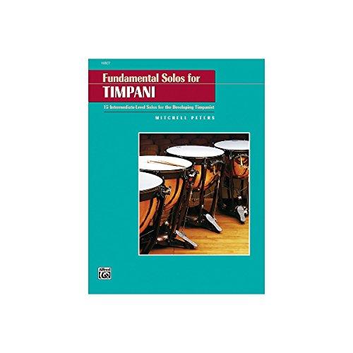 Alfred Publishing 00-16927 Solos Fundamentales para Timbal - M-sica Libro
