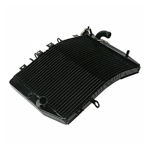 Enfriador radiador Aluminio para Motocicleta para para N&INJA para ZX6R para ZX-6R 1998-2002 1999 2000 2001 Radiador (Color : Negro)
