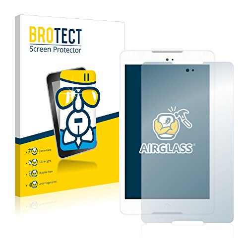 BROTECT Panzerglas Schutzfolie kompatibel mit BQ Aquaris M8 - AirGlass, 9H Festigkeit, Anti-Fingerprint, HD-Clear