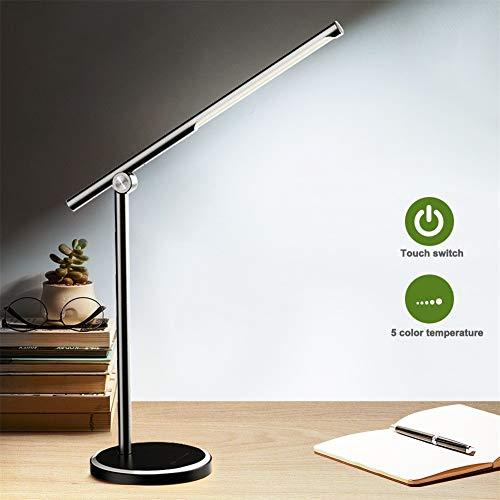 LED bureaulamp 5 kleurenmodi x5 dimbaar Levels Touch Control USB Oplaadbare Reading Eye-beveiligen met Timer Led Table lamp