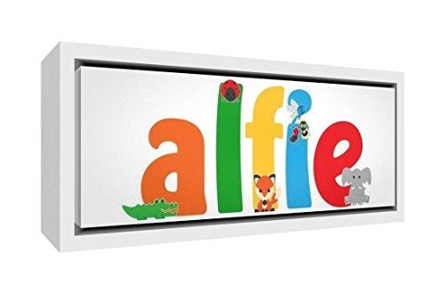 Little Helper Napperon avec Coaster Style Illustratif Coloré avec le Nom de Jeune Garçon Louis