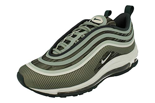 Nike Air Max 97 Ultra 17 Uomo Running Trainers 918356 Sneakers Scarpe (UK 5.5 US 6 EU 38.5, Mica Green Pure Platinum 302)