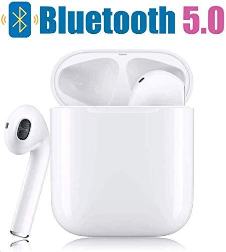 Bluetooth-Kopfhörer,Kabellose Kopfhörerr IPX7 wasserdichte,Noise-Cancelling-Kopfhörer,Geräuschisolierung,mit 24H Ladekästchen und Mikrofon für Android/iPhone/Samsung/Apple AirPods Pro