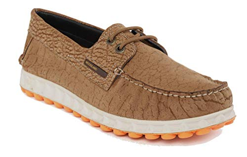Woodland Men's Camel Nubuck Leather Air Bridge Casual Shoes -7 UK/India (41 EU) (GC 2464117)