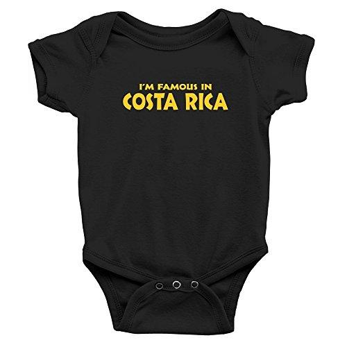 Teeburon I'M FAMOUS IN Costa Rica Body de bebé