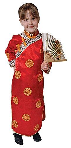 Dress Up America Ensemble de costume de luxe pour fille chinoise