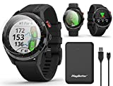 Garmin Approach S62 (Black) Premium Golf GPS Watch Bundle | +PlayBetter Portable Charger (Large) & HD Screen Protectors | Virtual Caddie, 41,000+ Courses, Slope | Golf Watch for Men | 010-02200-00