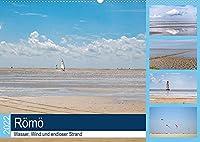 Roemoe - Wasser, Wind und endloser Strand (Wandkalender 2022 DIN A2 quer): Geniessen Sie eine Auszeit am Meer, mit 12 wunderbaren Strandaufnahmen von Roemoe. (Monatskalender, 14 Seiten )