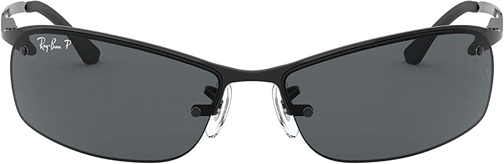 Ray-ban top bar, occhiali da sole per uomo RB3183
