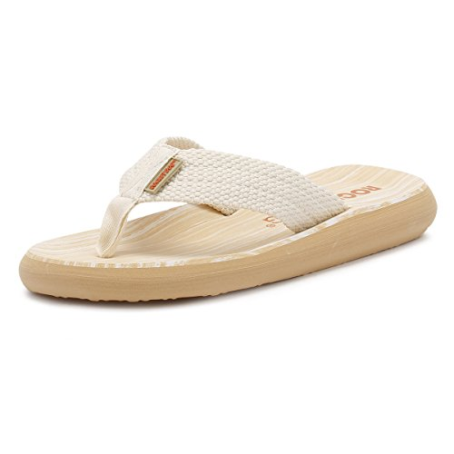 Rocket Dog Sunset, Tongs Femme, Off-White (Double Cream), 39.5 EU