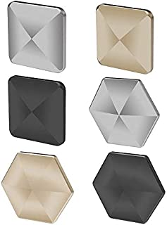 VWMYQ 2020 Flipo Flip, FingertipToy, Adult Kids Desk Toy, Stress Relieve Toy(1 Pack 3PCS) (Square&Hexagon-Gold/Sliver/Black)
