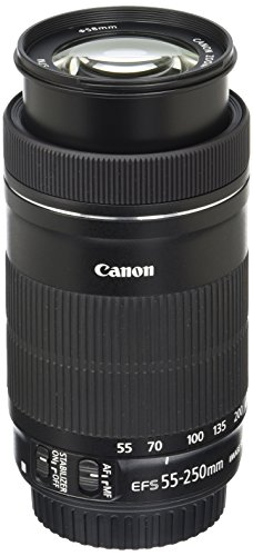 Canon EF-S 55-250mm F4-5.6 IS STM Lens for Canon...