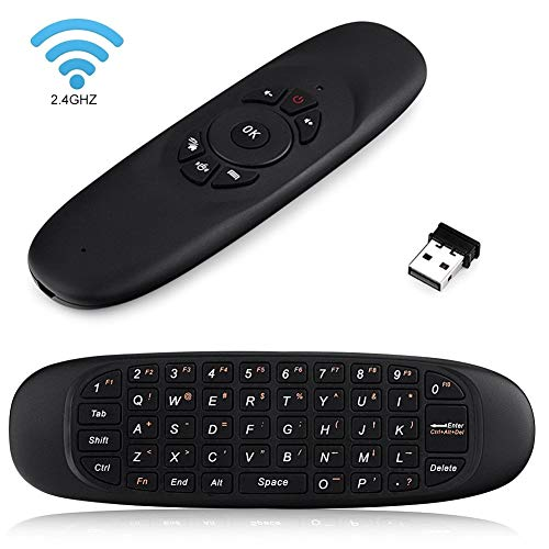 Rechargeable Multifunction Smart Air Fly Mouse, CYY Mini Wireless Keyboard for Game Handle Smart Android TV Box/PC/Laptop/Projector/Android Smart TV/HTPC/IPTV Media Player