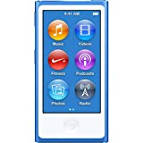 M-Player iPod Nano 7th Generation 16gb Blue (Generic Headset and Charging Cord) Packaged in Plain White Box