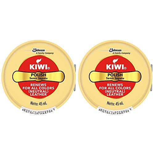 【まとめ買い】KIWI 油性靴クリーム 全色用 45ml×2