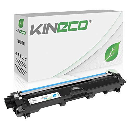 Kineco Toner kompatibel für Brother TN-245 TN245 für Brother MFC-9142CDN, Brother DCP-9022CDW, MFC-9342CDW, MFC-9332CDW, HL-3150CDW, HL-3170CDW - TN-245C - Cyan 2.200 Seiten