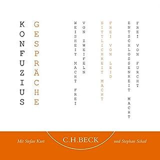 Gespräche                   Autor:                                                                                                                                 Konfuzius                               Sprecher:                                                                                                                                 Stefan Kurt,                                                                                        Stephan Schad                      Spieldauer: 1 Std. und 4 Min.     26 Bewertungen     Gesamt 4,5