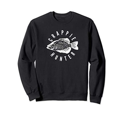 Amantes de la pesca de Crappie Hunter Sudadera