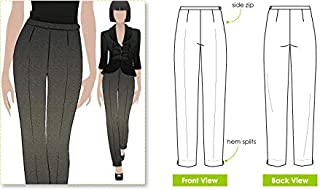 Style Arc Sewing Pattern - Willow Pant (Sizes 04-16) - Click for Other Sizes Available