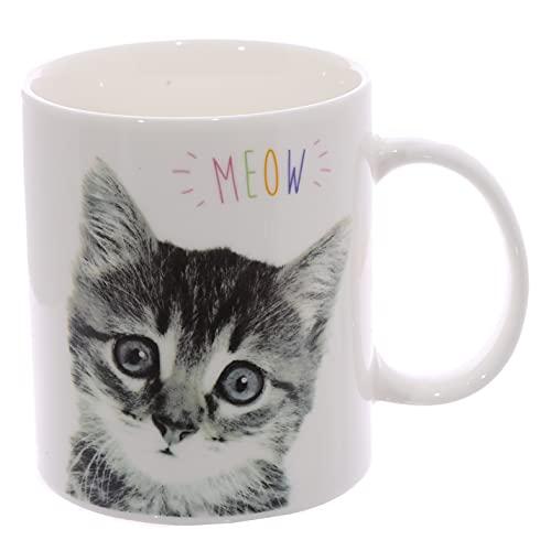 Meow Tasse à café Motif chat