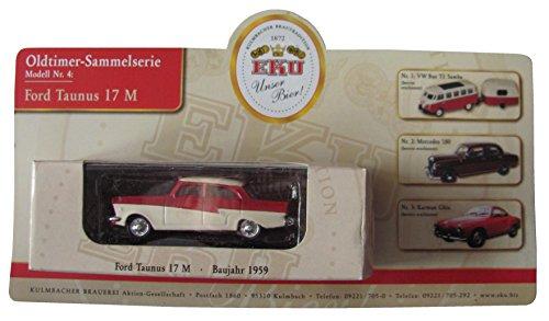 EKU Brauerei Nr.46 - Unser Bier - Ford Taunus 17 M - Baujahr 1959 - Pkw