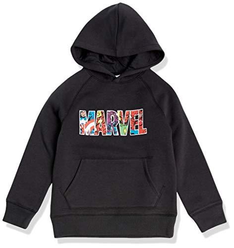 Amazon Essentials Disney Star Wars Fleece Pullover Sweatshirt Hoodies Fashion, Marvel Character Logo, 2 año