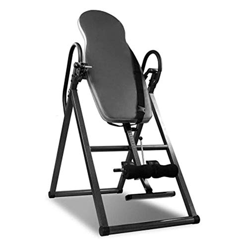 Buy CHHCYH Strength Training Inversion Equipment Heavy Duty Inversion Table - with Headrest & Adjust...