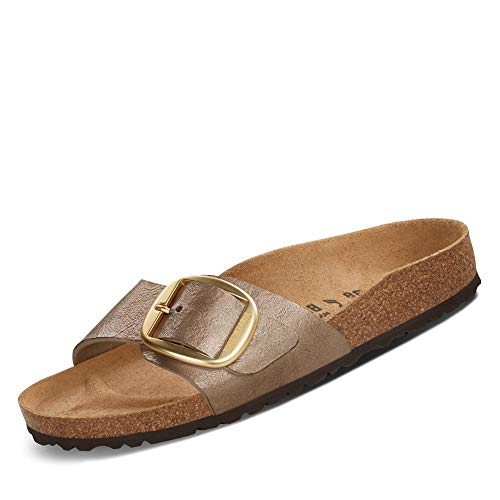 BIRKENSTOCK Pantoletten Madrid Big Buckle[Slipper] Gold 43