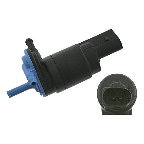 febi bilstein 09089 Waschwasserpumpe / Wischwasserpumpe für Scheibenreinigungsanlage, 12 Volt, 1 Stück