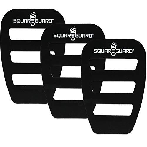 SquareGuard Pocket Square Holder (3 Pack) For Men, Best Pocket Square Organizer