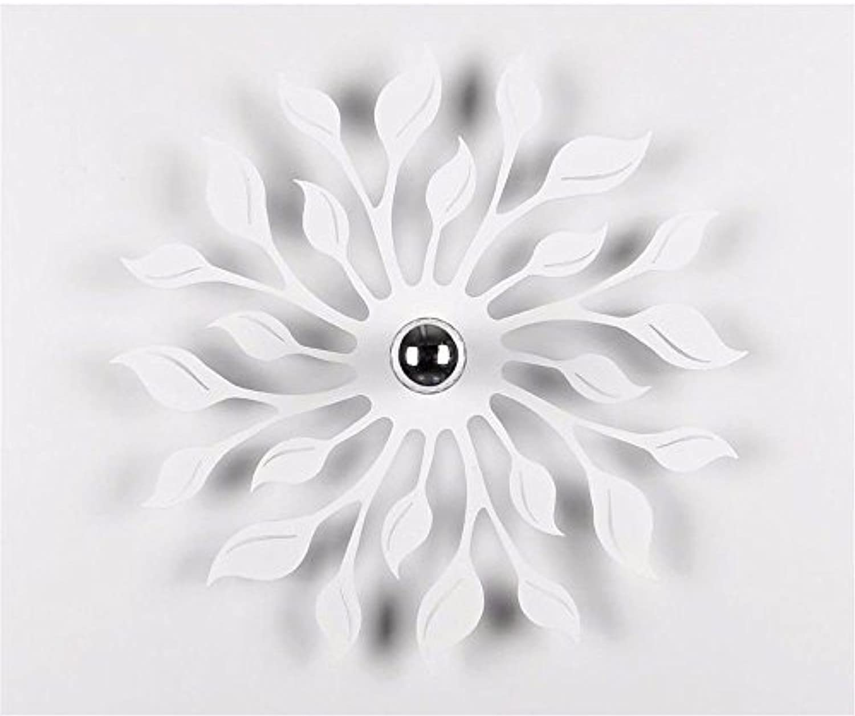 StiefelU LED Wandleuchte nach oben und unten Wandleuchten Verlsst ein Schatten an der Wand leuchten Wohnzimmer Schlafzimmer Studie Magie aus, Wei