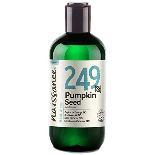 Naissance Pumpkin Seed Oil 250ml Certified Organic 100% Pure
