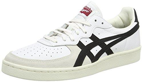 Onitsuka Tiger gsm, Zapatillas de Estar por casa para Hombre, Blanco (White/Black 0190), 46 EU