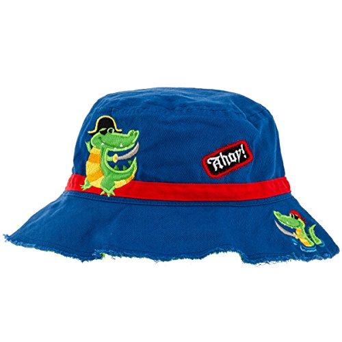 Stephen Joseph Apparel Bucket Hat, Alligator/Pirate
