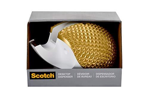 Scotch Brand Hedgehog Tape Dispenser, Includes 3/4 in x 350 in Tape Roll (C47-HEDGEHOG-G)