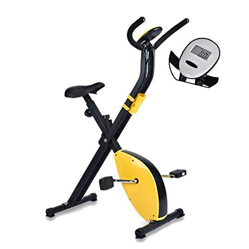 Deportes Bicicleta Estática Mute Bicicleta De Ejercicio Pérdida De Peso De Bicicletas Aparatos De Gimnasia Máquinas De Ejercicios For Bajar De Peso (Color : Yellow)