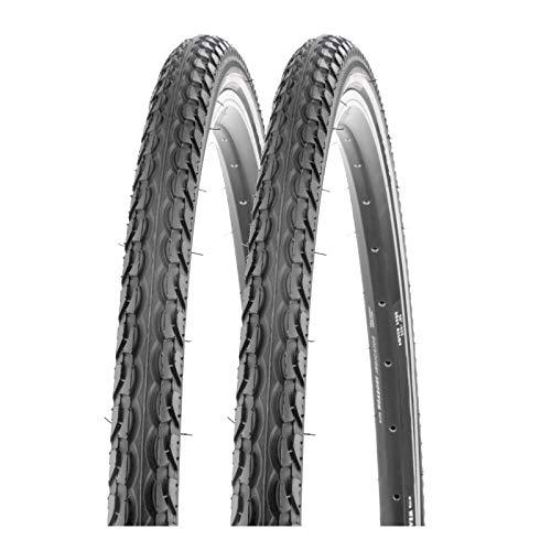 P4B | 2X 28 Zoll Fahrradreifen 40-622 (28 x 1.50) mit Reflexstreifen für erhöhte Sichtbarkeit | Sehr guter Grip bei jedem Untergrund