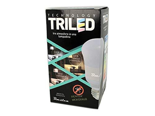 Lampada Led E27 Anti Zanzara Repellente 11W A70 AC110V 220V CCT 1800K 3800K 5800K 3 In 1 Triled B11WYMR