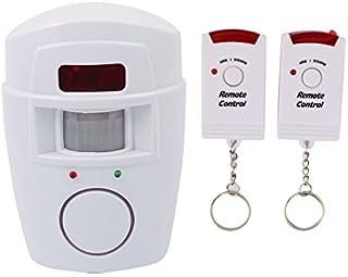 eDealMax inalámbrica inteligente 2 en 1 Sistema de Alarma Detector de movimiento PIR de alerta de