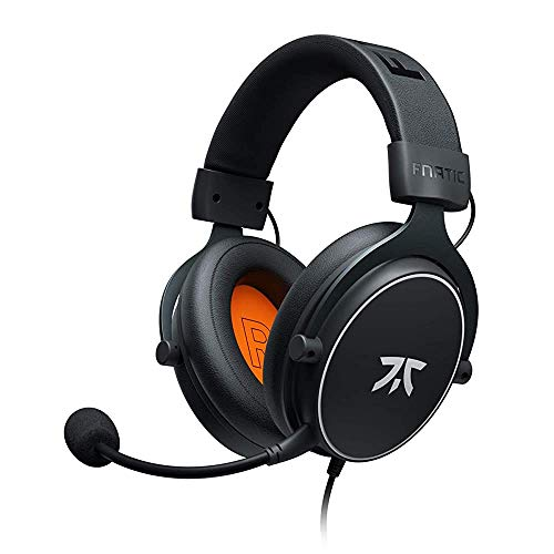 Fnatic React Gaming Headset for PS4/PC with 53mm Drivers, Stereo Sound (Renewed)