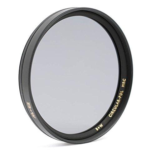 B+W Zirkular-Polfilter (Polarisationsfilter, CPL-Filter) mit MRC Mehrschichtvergütung und F-Pro Fassung 49mm - Made in Germany by Schneider Kreuznach